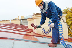 Spray Sealing and Re-painting of your Roof Tiles